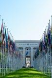 les nations de Genève ont uni Photos stock