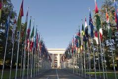 Les Nations Unies à Genève - en Suisse Photographie stock libre de droits