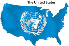 Les Nations Unies illustration stock
