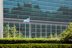 Les Nations Unies construisant à New York Photographie stock