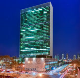 Les Nations Unies construisant - New York images libres de droits