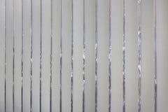 Les nervures verticales ont fait de l'aluminium Fond en métal photographie stock libre de droits