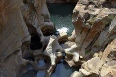 Les nids de poule de Bourke, Afrique du Sud Photo libre de droits