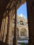 Les nimos de ³ de DOS Jerà de Mosteiro de monastère de nimos de ³ de Jerà ou de monastère de Hieronymites photographie stock