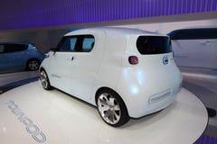 Les Nissans neuves Townpod Photographie stock libre de droits