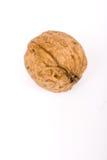 Les noix se ferment vers le haut de d'isolement Photo stock
