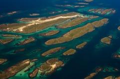 Îles norvégiennes Photos libres de droits