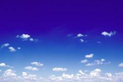 Les nuages. Images libres de droits