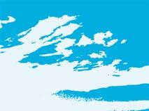 Les nuages abstraits dirigent le fond texturisé illustration libre de droits