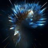 Les nuages colorés de galaxie et le grand abrégé sur coup tiennent le premier rôle la texture illustration libre de droits