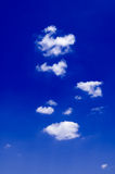 Les nuages de blanc. Images libres de droits