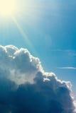 Les nuages orageux Images libres de droits