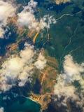 Les nuages pilotent le tir Photos libres de droits