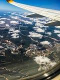 Les nuages pilotent le tir Photo stock