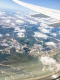 Les nuages pilotent le tir Photo libre de droits