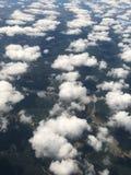 Les nuages pilotent le tir Photographie stock libre de droits