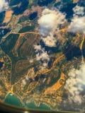 Les nuages pilotent le tir Image libre de droits