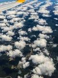 Les nuages pilotent le tir Images libres de droits