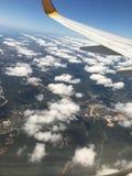 Les nuages pilotent le tir Photographie stock