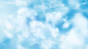 Les nuages volent par 1 fond de Loopable banque de vidéos