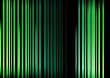 les nuances vertes abstraites ont barré Photos stock