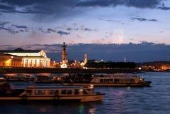 Les nuits blanches de Pétersbourg Photographie stock libre de droits
