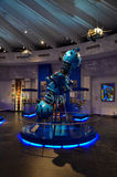 Les objets exposés du musée, Universarium, Moscou p Photographie stock libre de droits