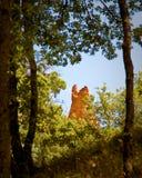 Les Ocres du le Roussillon Photographie stock libre de droits