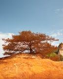 Les Ocres du le Roussillon Photographie stock