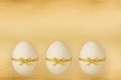 Les oeufs de pâques Photos libres de droits