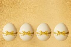 Les oeufs de pâques Photo libre de droits