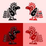 Les oiseaux des Indiens d'Amerique illustration de vecteur