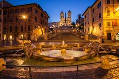 Les opérations d'Espagnol à Rome Image libre de droits