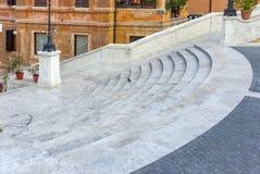 Les opérations d'Espagnol à Rome, Italie Photos libres de droits