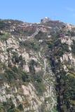 Les opérations jusqu'au dessus de la montagne Tai Photographie stock libre de droits