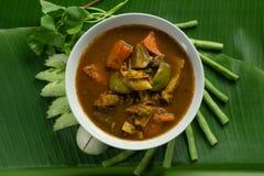 Les organes thaïlandais de poissons acidifient la soupe photos libres de droits