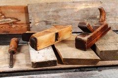 Les outils du charpentier Image libre de droits