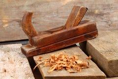 Les outils du charpentier Image stock