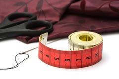 Les outils du tailleur Image stock