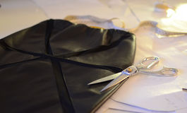 Les outils du tailleur Photo stock