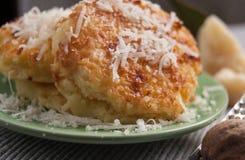 Les pâtes spéciales avec de la farine de blé entier ont appelé l'alla Romana de Gnocchi photographie stock libre de droits