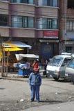 Les périphéries de la ville de La Paz Photos libres de droits