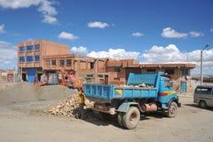 Les périphéries de la ville de La Paz Image libre de droits