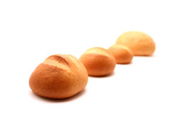 Les pains ont suivi pour le pain Photos stock