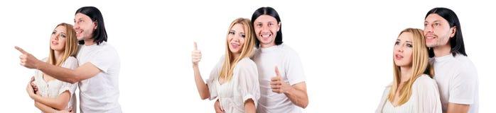 Les paires de l'homme et de la femme dans l'amour Photos libres de droits
