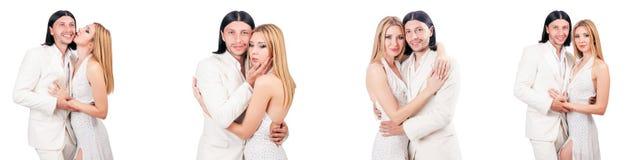 Les paires de l'homme et de la femme dans l'amour Photographie stock libre de droits
