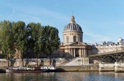 Les palais d'Institut à Paris Photo libre de droits