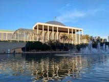 Les Palaos de la Musica dans la ville de Valence Photo libre de droits