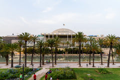Les Palaos de la Musica de Valence Images libres de droits