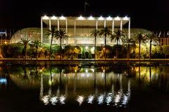 Les Palaos de la Musica (palais de musique) De Valence Images stock
